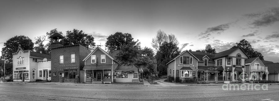 Suttons Photograph - Suttons Bay Shops by Twenty Two North Photography