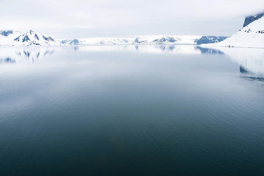 Svalbard In The Arctic Photograph by Nailzchap