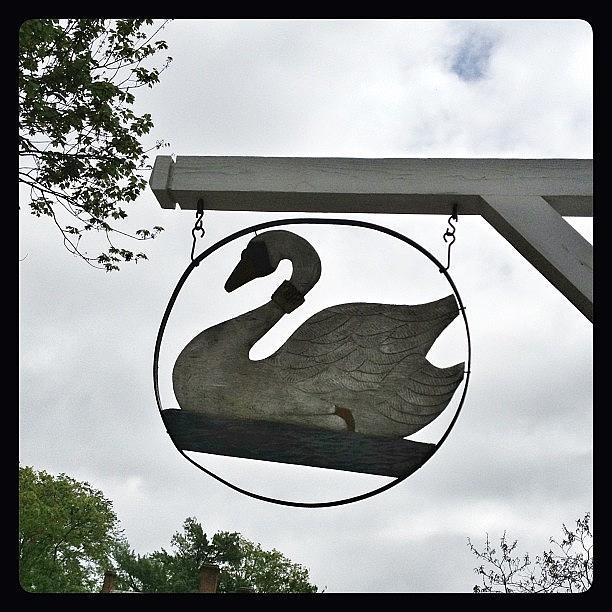 Swan Photograph - Swan Tavern In Yorktown. #yorktown by Teresa Mucha