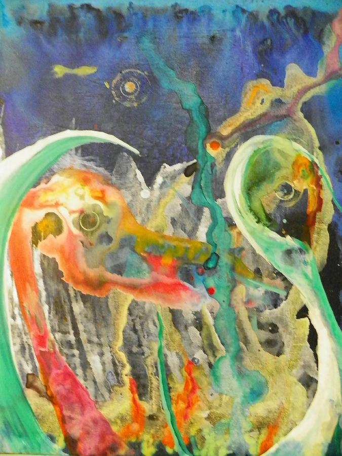 Art Painting - Swansong by Dan Cope