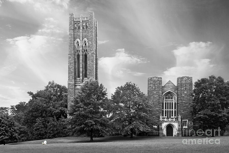 Pennsylvania Photograph - Swarthmore College Clothier Hall by University Icons