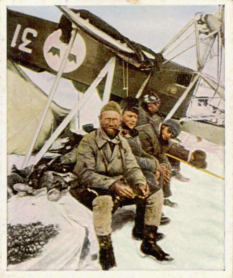 Crashes Photograph - Swedish Aviator Lundborg, Who by Mary Evans Picture Library