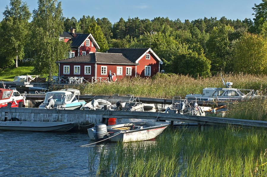 Sweden Photograph - Swedish Summer by Nancy De Flon