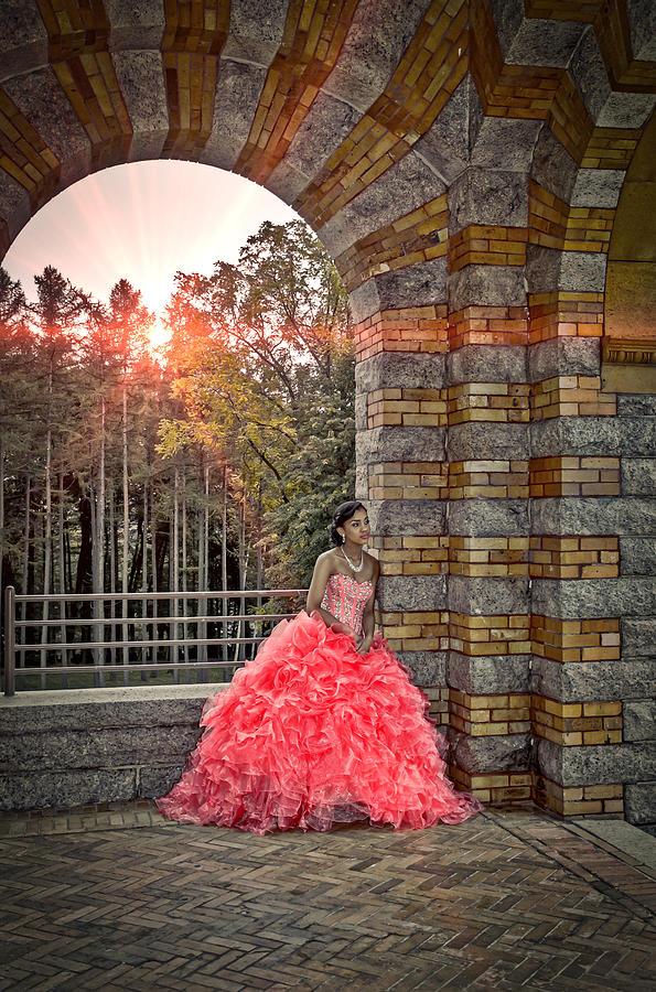 Sweet 16 Photograph - Sweet 16 Princess by Louis Rivera