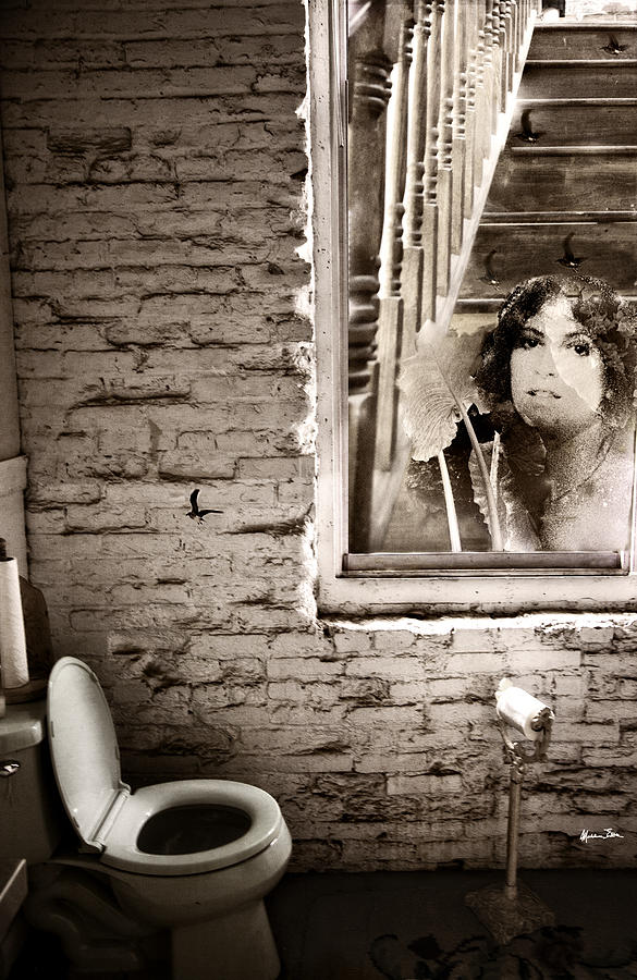Youth Photograph - Sweet Bird Of Youth Aka Window Of Time B/w by Madeline Ellis