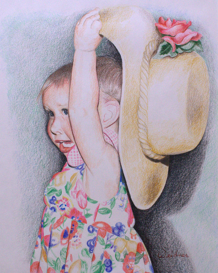 Sweet Drawing - Sweet Caroline by Kathy Weidner