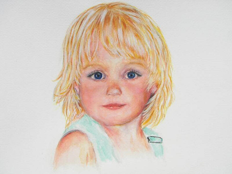 Child - Portrait - Sweet Child Painting