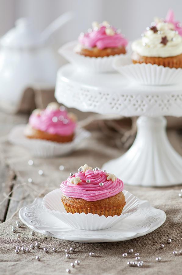 Sweet Cupcakes Photograph by Oxana Denezhkina