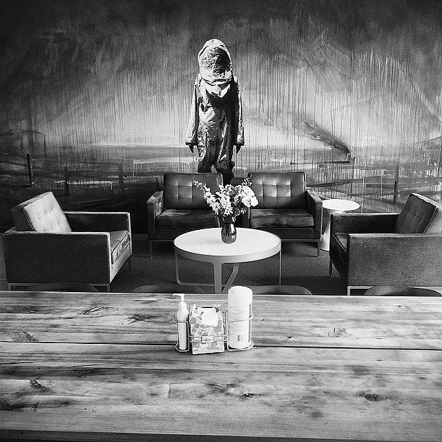 Blackandwhite Photograph - Sweet Digs #ogilvy #newyork by Matthew Bryan Beck