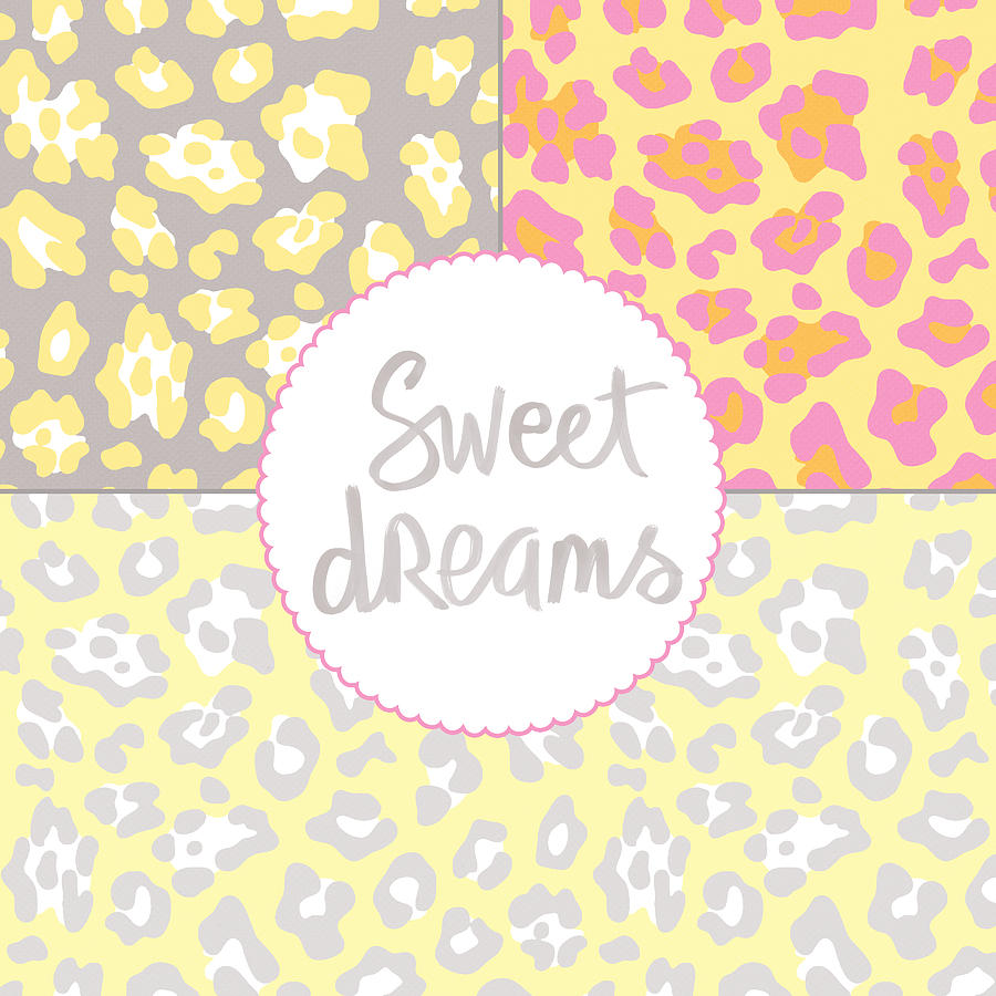 Sweet Dreams Digital Art - Sweet Dreams - Animal Print by Linda Woods