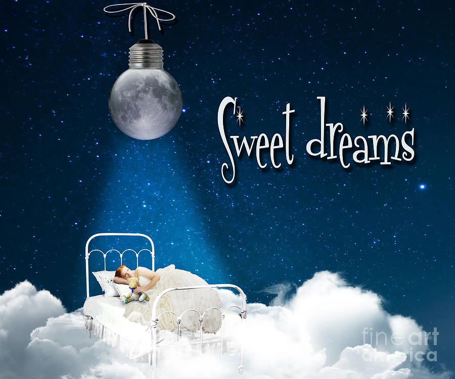 Bed Photograph - Sweet Dreams by Juli Scalzi