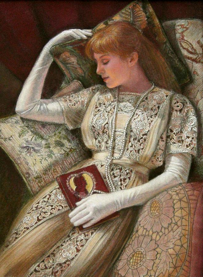 Reading Pastel - Sweet Dreams by Sue Halstenberg