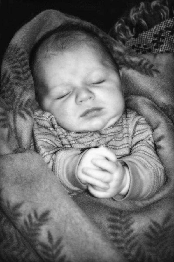 Baby Photograph - Sweet Dreams by Susan Leggett