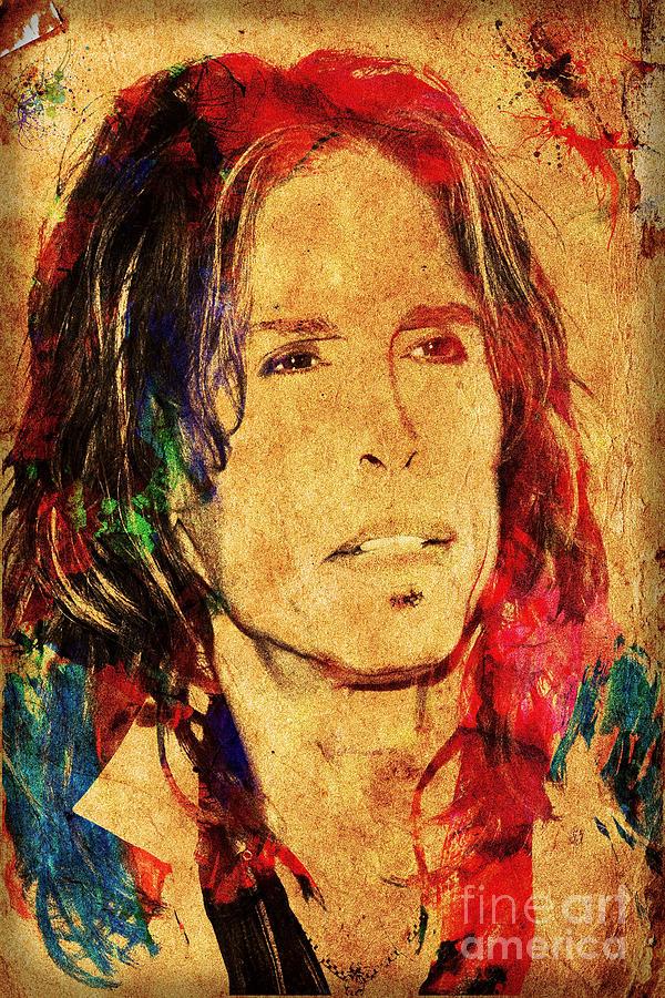 Steven Tyler Photograph - Sweet Emotion by Gary Keesler