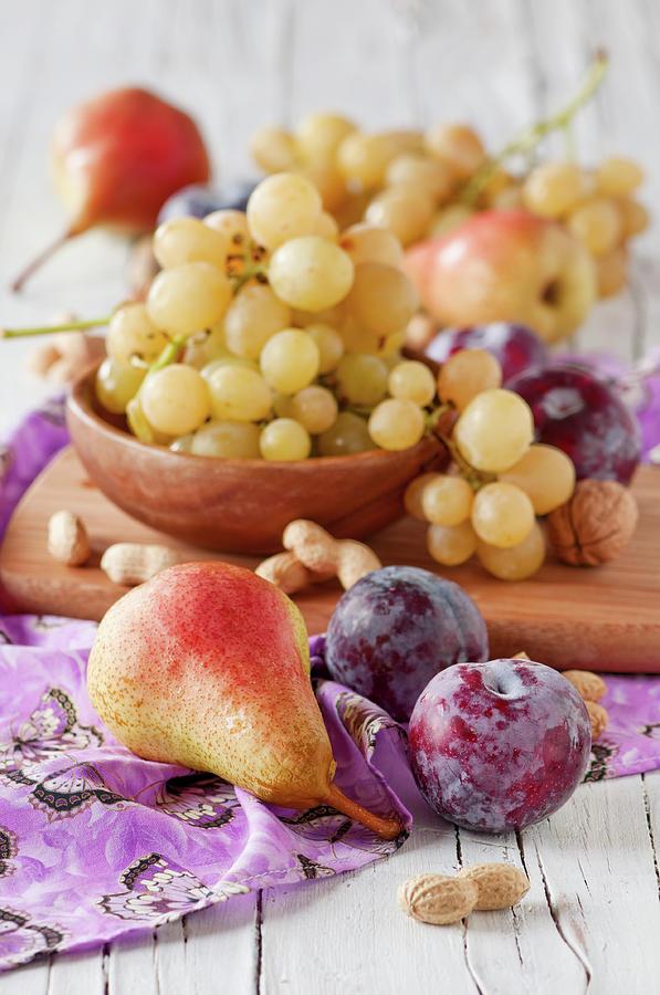 Sweet Fresh Fruits Photograph by Oxana Denezhkina