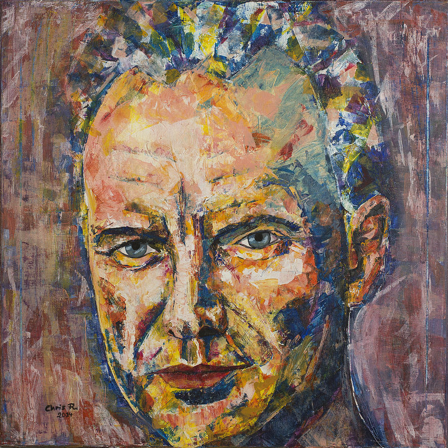 Sting Painting - Sweet Intoxication Of Love by Christel  Roelandt