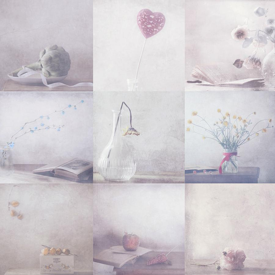 Pastel Photograph - Sweet Little Things Collection by Delphine Devos