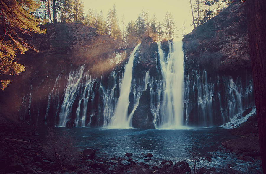 Burney Falls State Park Photograph - Sweet Memories by Laurie Search