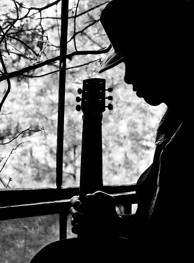 Blues Photograph - Sweet Music Man by EG Kight