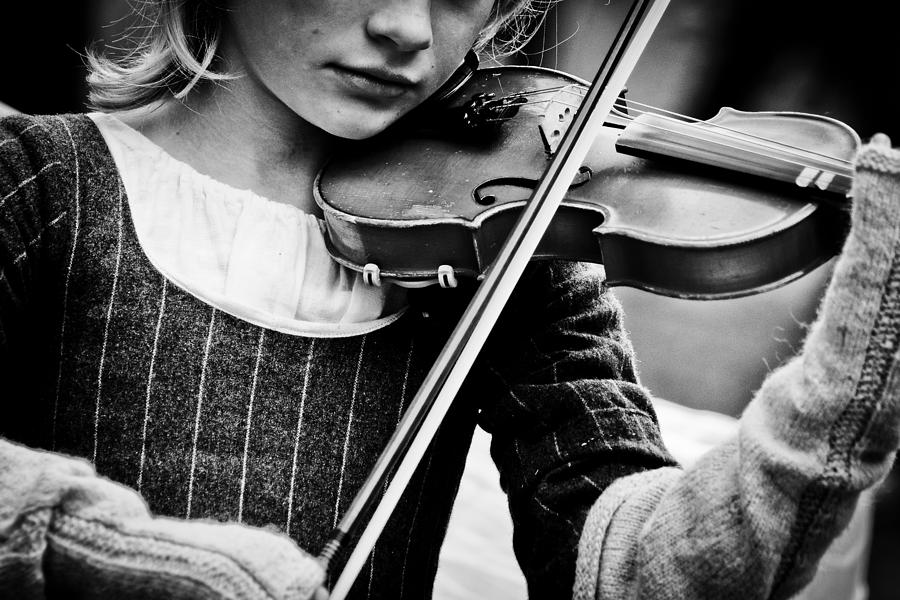 Violin Photograph - Sweet Music by Off The Beaten Path Photography - Andrew Alexander