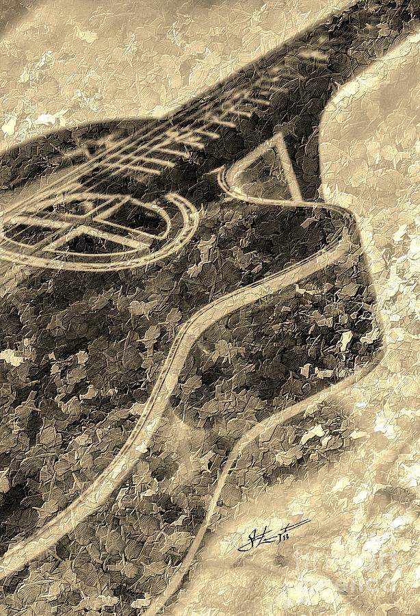 Acoustic Photograph - Sweet Sounds Digital Guitar Art By Steven Langston by Steven Lebron Langston