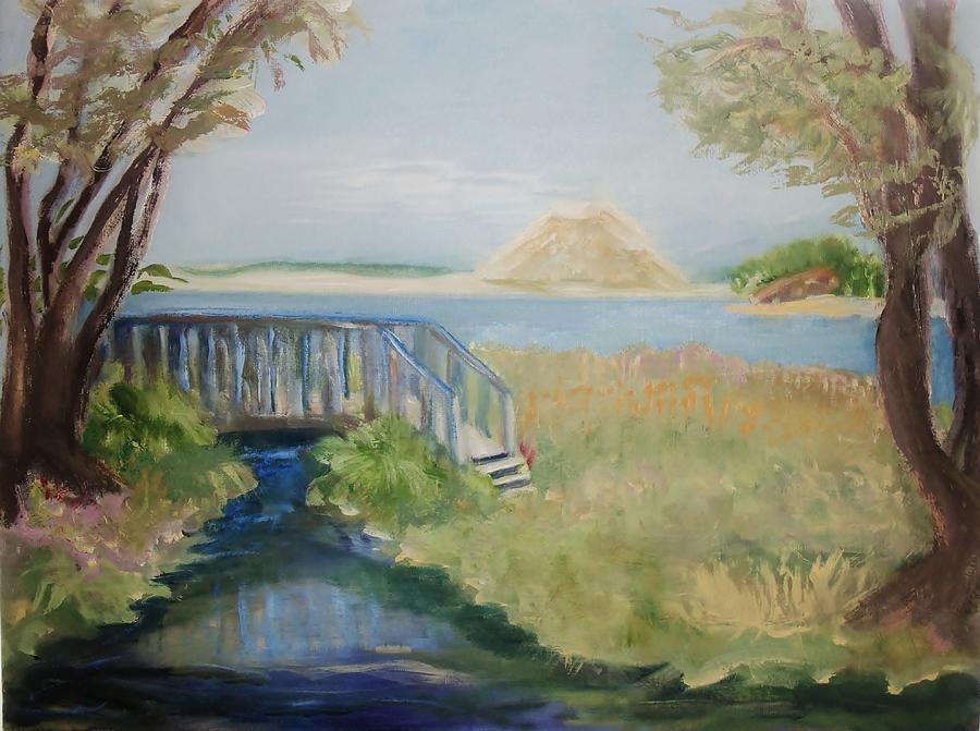 Natural Preserve Painting - Sweet Springs by Jan Moore