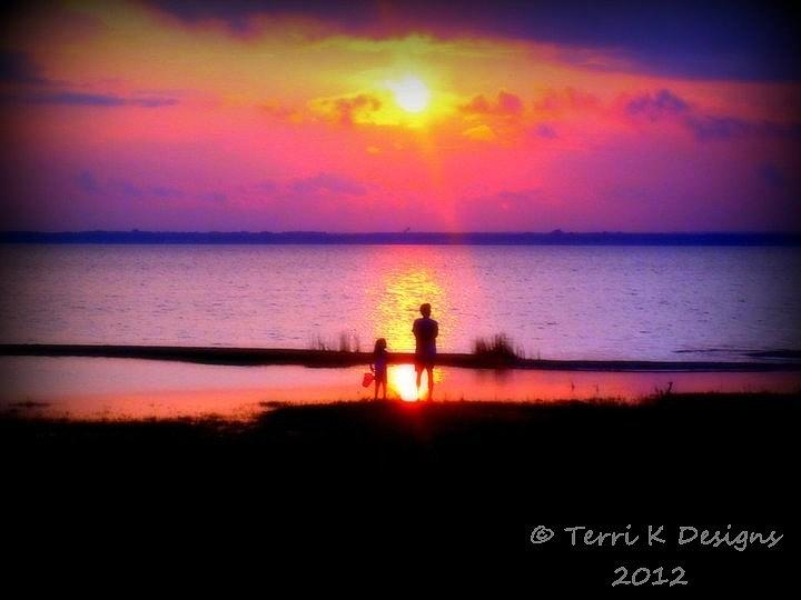 Sunset Photograph - Sweet Sunset by Terri K Designs