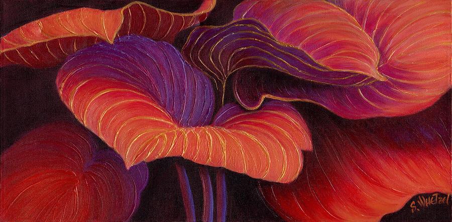 Scarlet Painting - Sweet Tarts by Sandi Whetzel