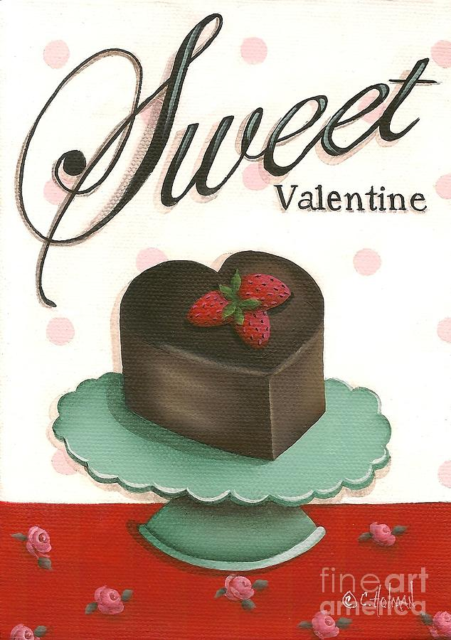 Print Painting - Sweet Valentine  by Catherine Holman