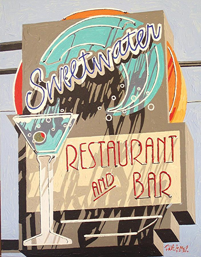 Sacramento Painting - Sweetwater by Paul Guyer