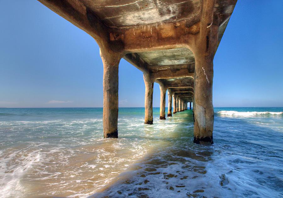 Pier Photograph - Swept Away by Joe Schofield