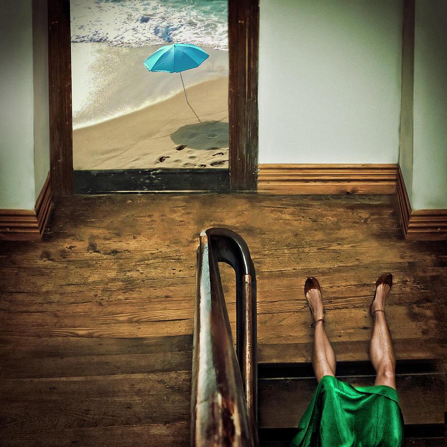 Umbrella Photograph - Swim Or Dive! by Ambra
