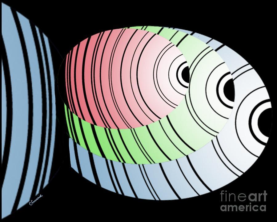 Fish Digital Art - Swim Swim Swim by Christine Fournier