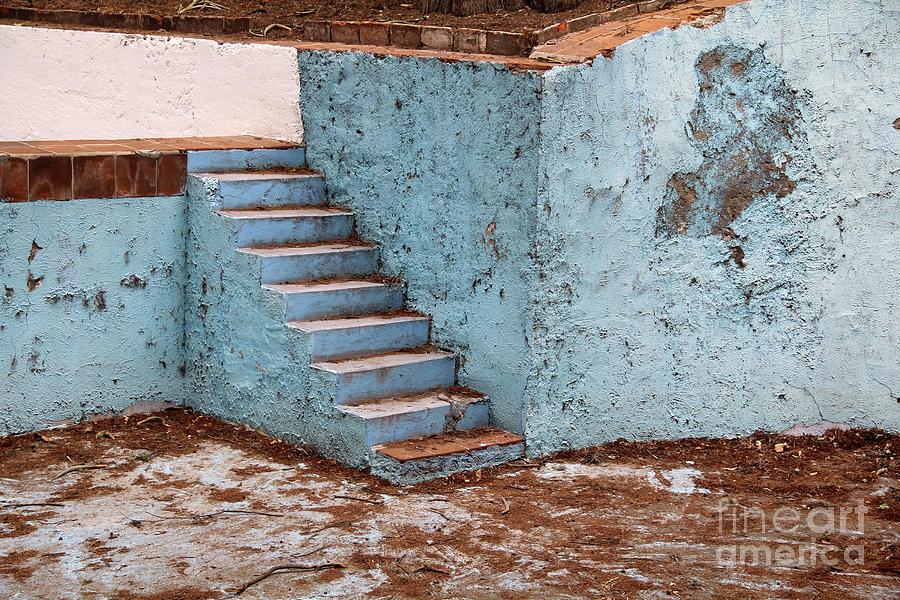 Swimming Pool Photograph - Swimming Pool At Exhacienda De Chautla by Linda Queally