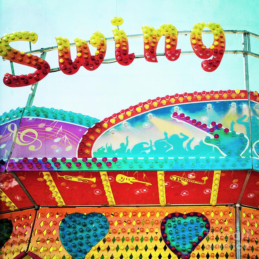 Carnival Photograph - Swing by Kim Fearheiley