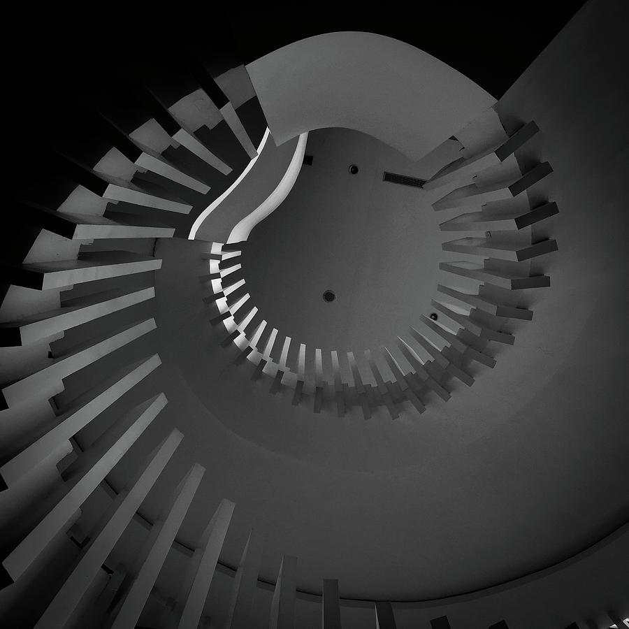 Architecture Photograph - Swirl by Bonifasius Wahyu Adi