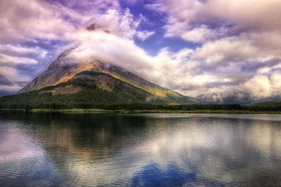 National Park Photograph - Swirling Clouds by Andrew Soundarajan