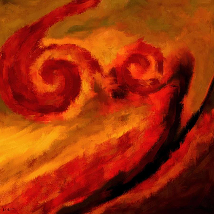 Swirling Hues Digital Art By Lourry Legarde