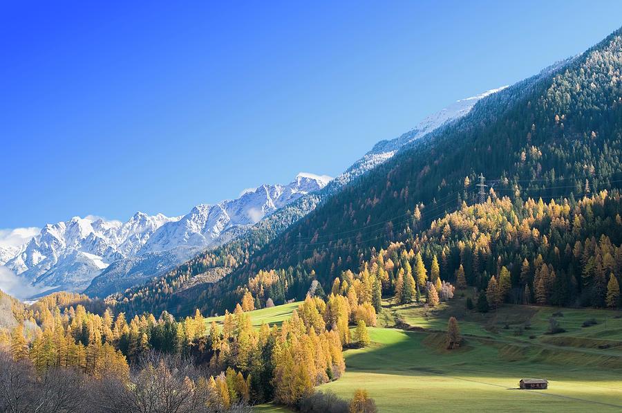 Swiss Alps Photograph by Zu 09
