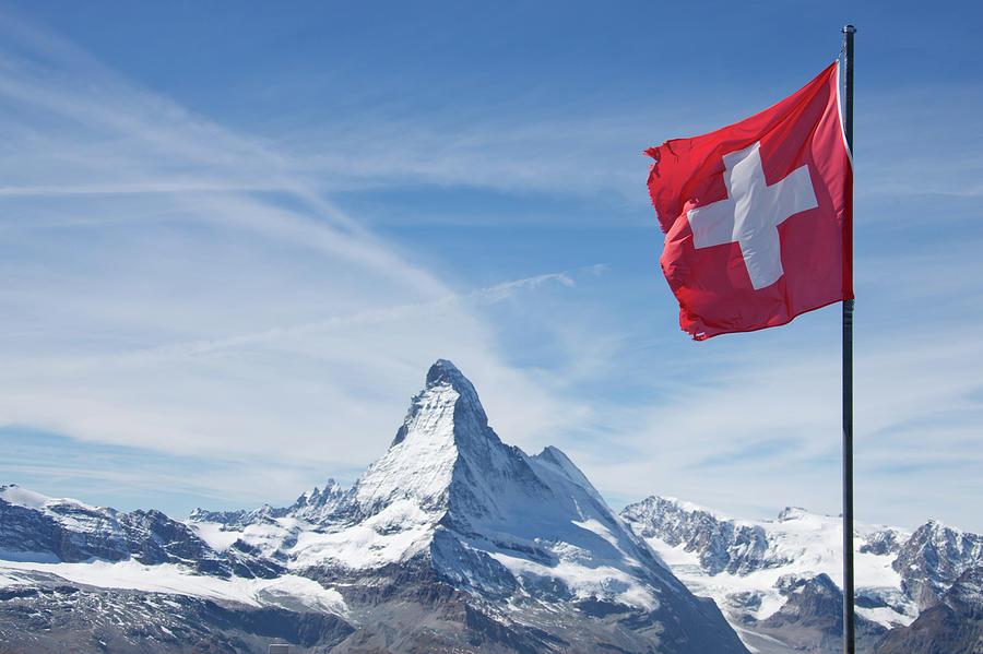 Switzerland Matterhorn Photograph by M Swiet Productions