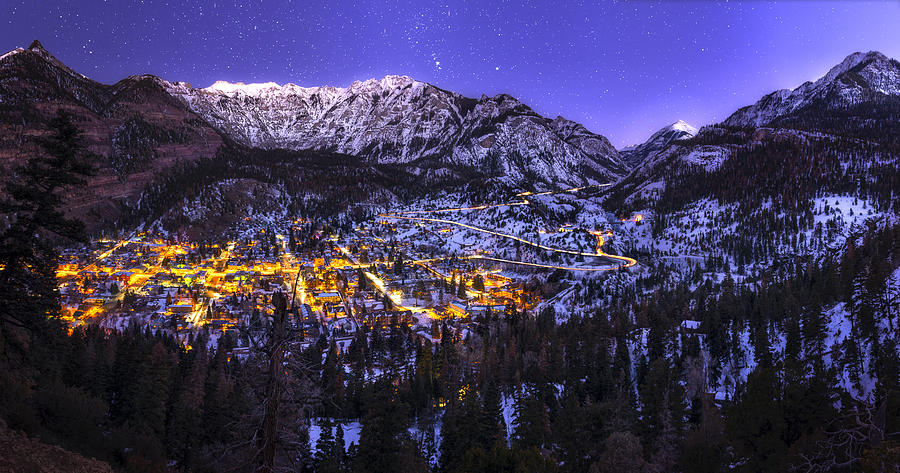 Ouray Photograph - Switzerland of America by Taylor Franta