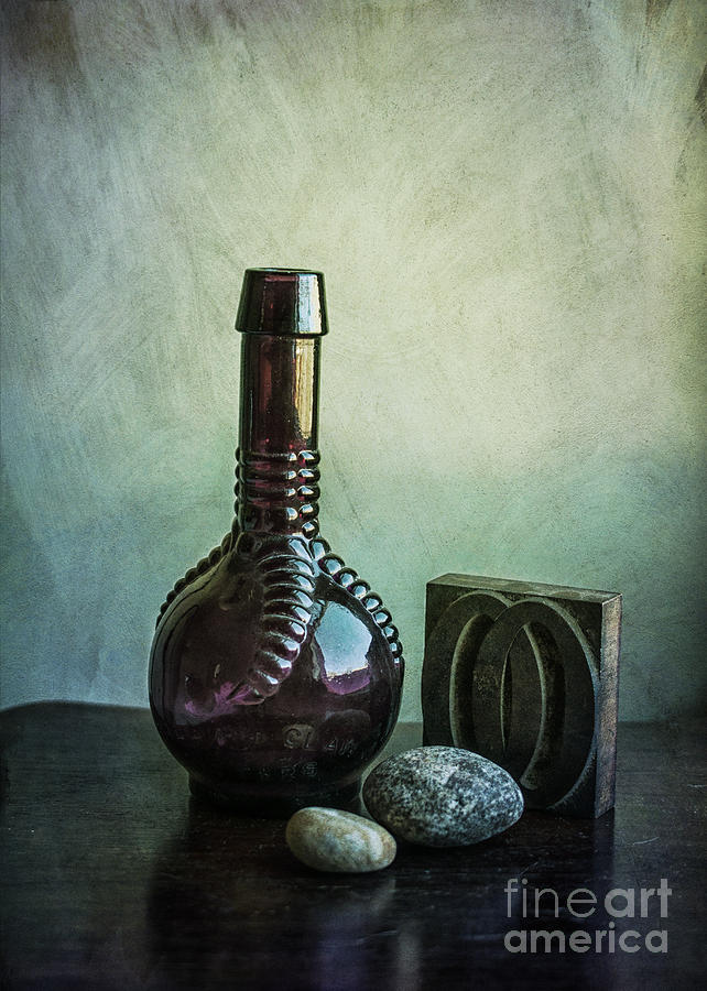 Bottle Photograph - Sybils Bottle by Terry Rowe