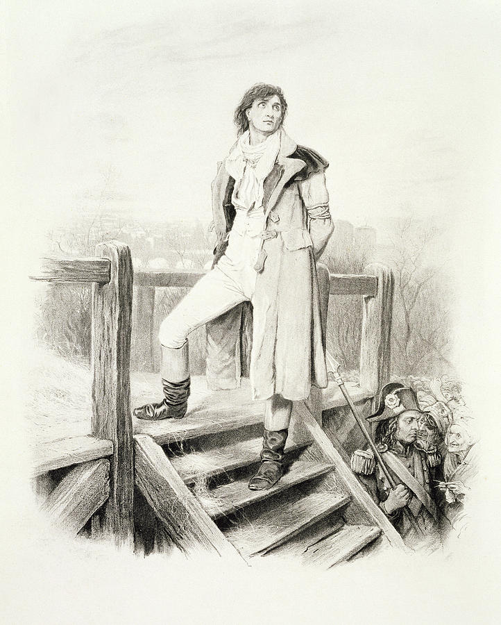 sydney carton from charles dickens a drawing by hablot knight browne male drawing sydney carton from charles dickens a by hablot knight browne
