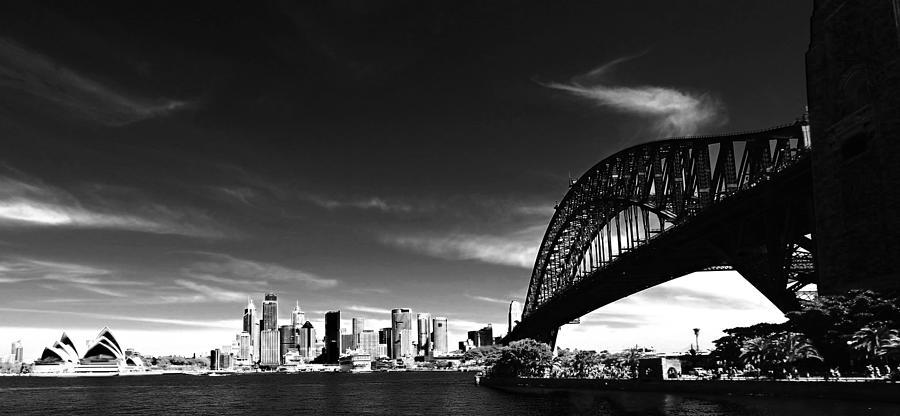 Landscape Photograph - Sydney by Chris Cousins