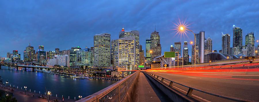 Sydney City At Dusk Photograph by Atomiczen