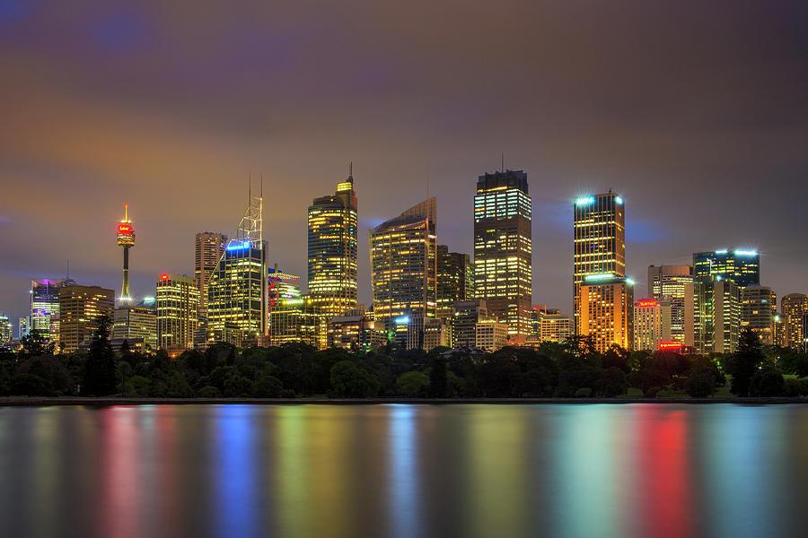 Sydney City - Australia Photograph by Atomiczen