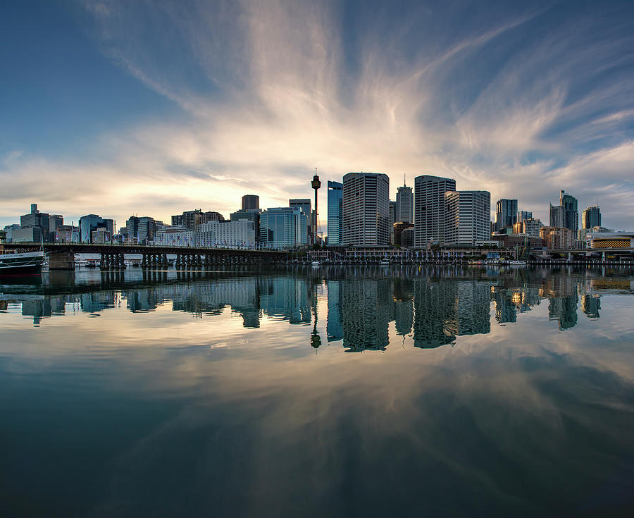 Sydney Darling Harbour Photograph by Atomiczen