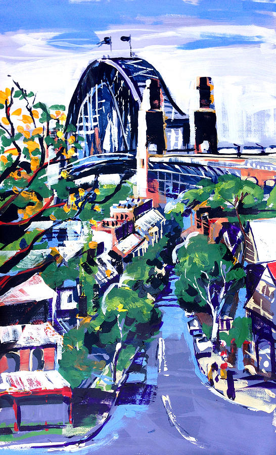 City Painting - Sydney Daylight by Shirley  Peters