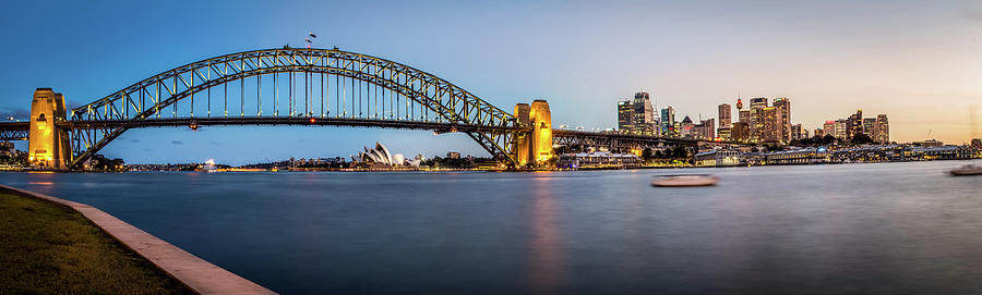 Sydney Evening Skyline Photograph by Image By Mike Hankey