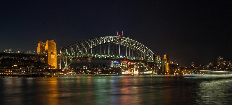 Sydney Harbour Bridge Photograph - Sydney Harbour Bridge 2 by Dasmin Niriella